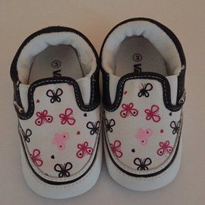 Vans Baby Girl Slip-On Shoes Size 3